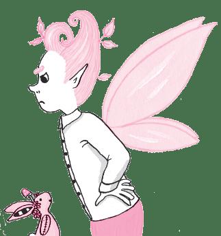 Monsieur Pamplemousse, the fairy school teacher