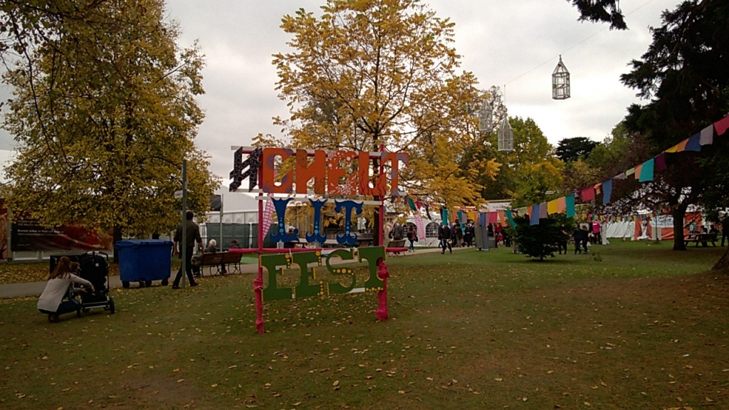 Cheltenham Literature Festival Sign