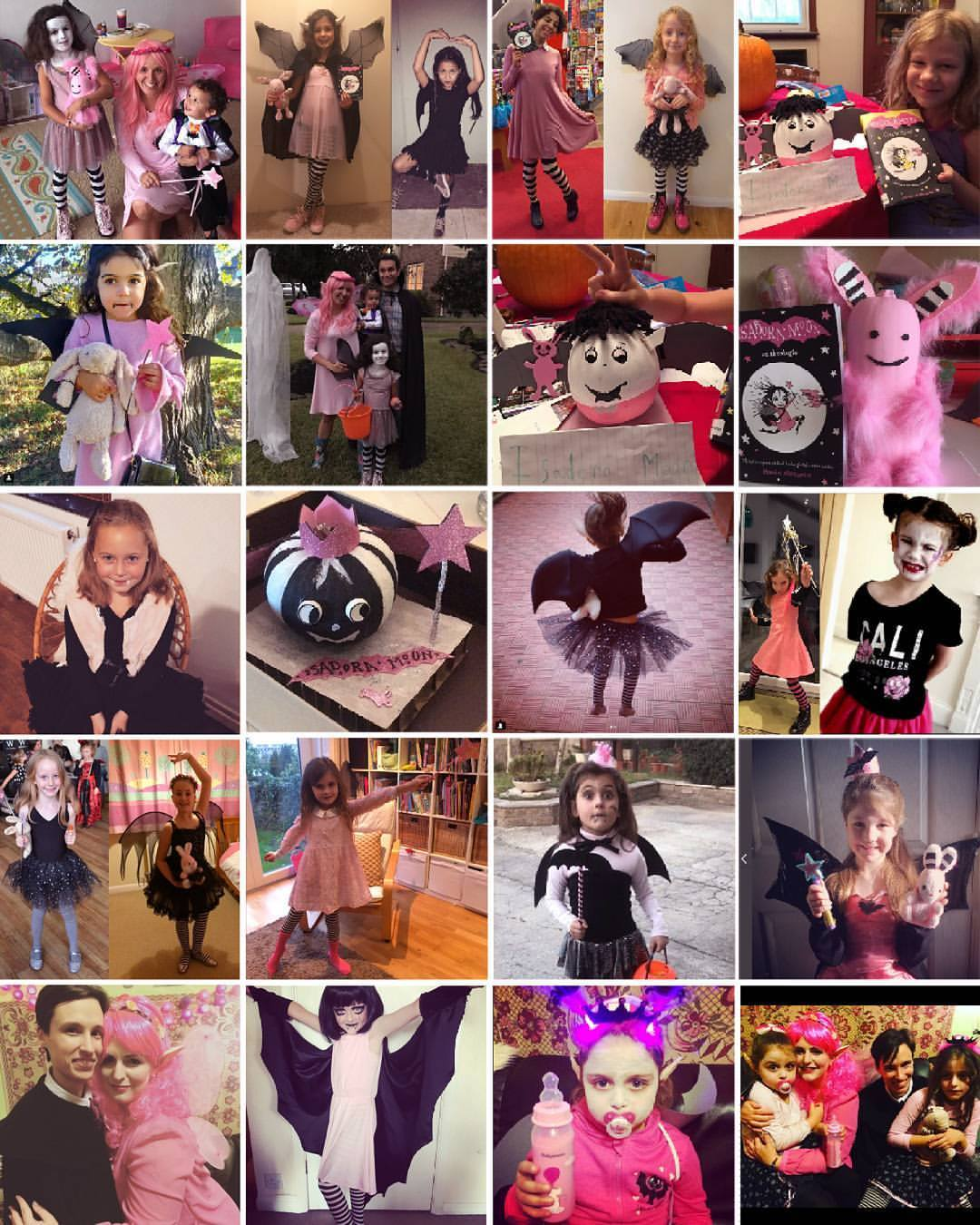 Isadora Moon Halloween costumes and decorations