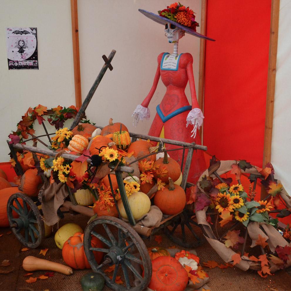 Pumpkins at Waddesdon Manor