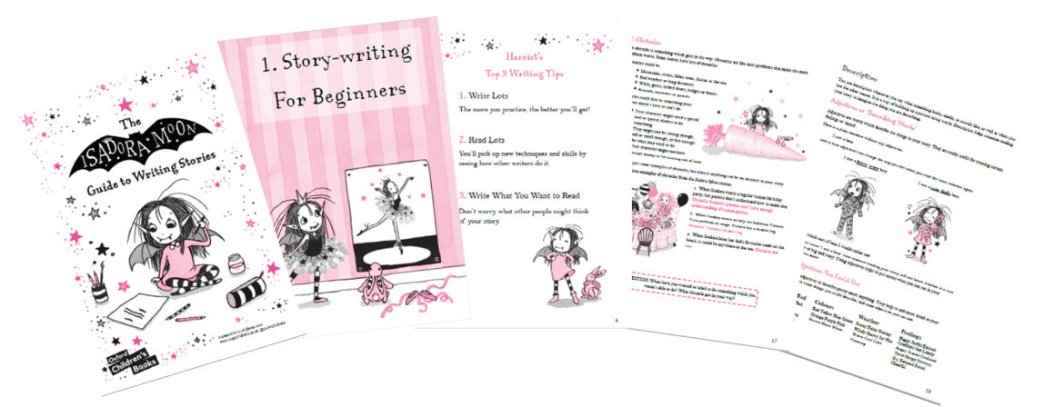 Preview of the Isadora Moon Guide to Writing Stories