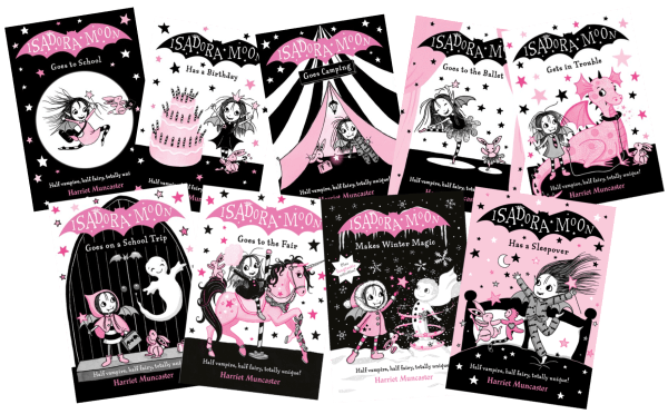 Isadora Moon books first 9 covers