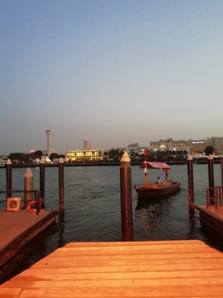 View of the Dubai Creek