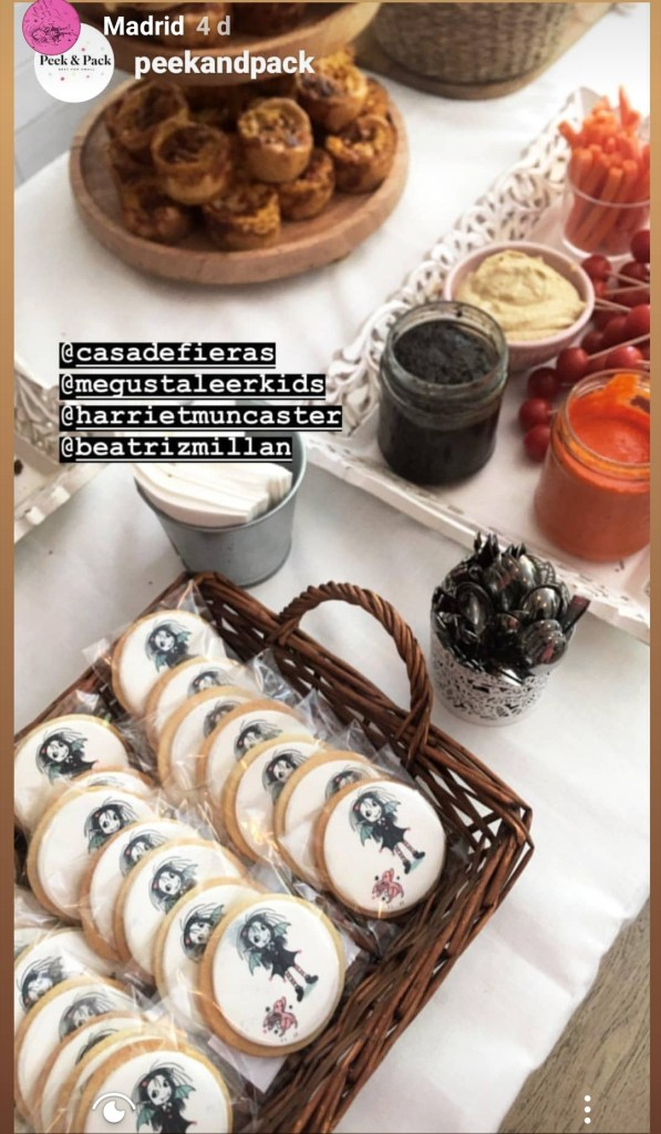 Isadora Moon Biscuits in Madrid (Peekandpack)