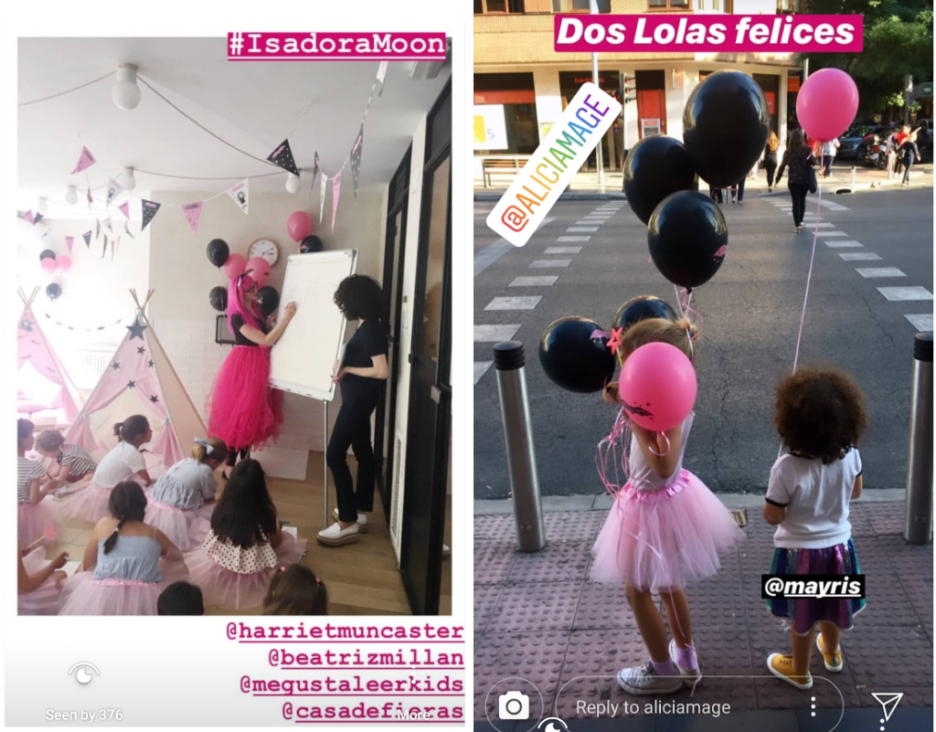 Isadora Moon Party in Madrid
