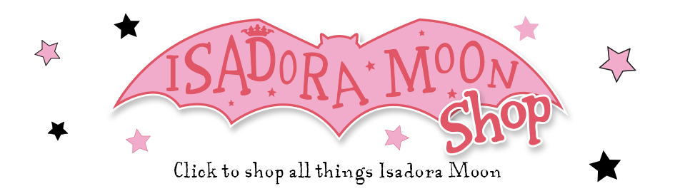 Isadora Moon Web Banner for Shop