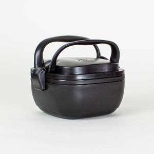Black Huski lunch box