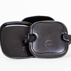 Huski lunch box in black