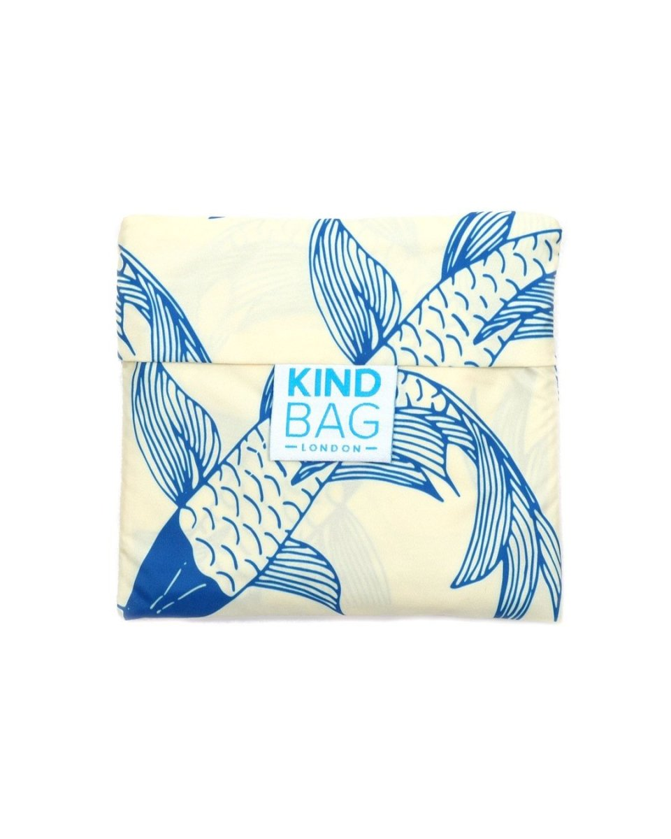 kind bag in pouch koi fish design