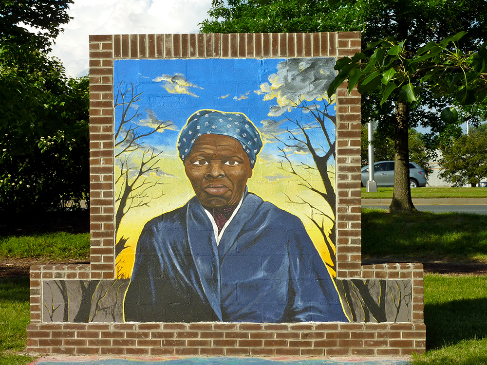 2. Harriet Tubman Memorial Garden