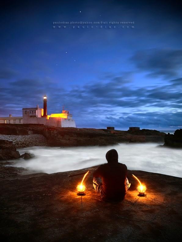 Paulo Dias - Light my spirit - self portrait
