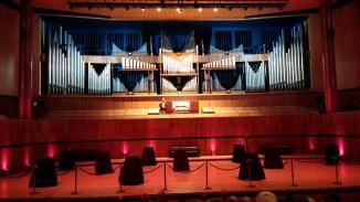 William McVicker introducing his recital