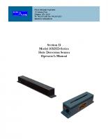 HIC 10XHD-Series Manual