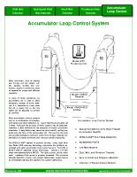 HIC Accumulator Loop Control