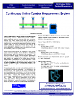 HIC Continuous Online Camber Measurement
