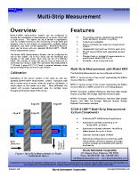 HIC Multi-Strip Measurement