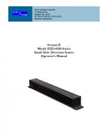 HIC SHD-4000 Master Manual
