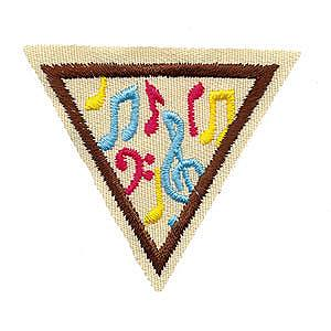 Making Music Try It We've Got Rhythm Girl Scout Badge at Harris Academy of the Arts