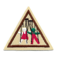 Puppets Dolls and Plays Try It Girl Scout Badge at Harris Academy of the Arts