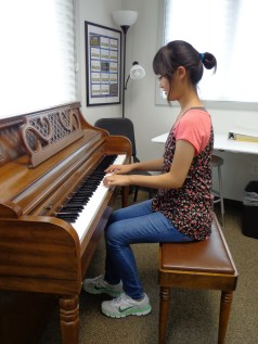 Grace Oh October 2014 Student of the Month Piano Lessons Harris Academy of the Arts