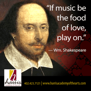 Shakespeare on Music and Love