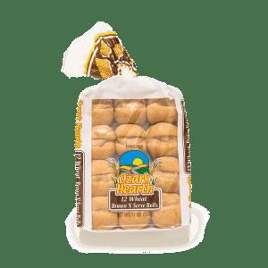 Ozark Hearth 12 Wheat Brown N Serve Rolls