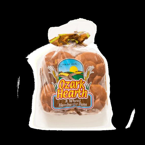 Ozark Hearth 8 Wheat Hamburger Buns