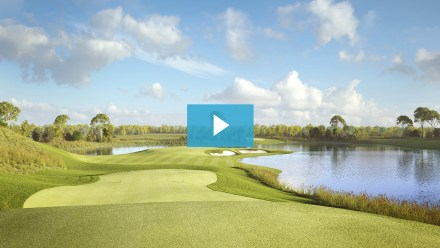 Animation of Pacific Links National Golf Club in Beijing