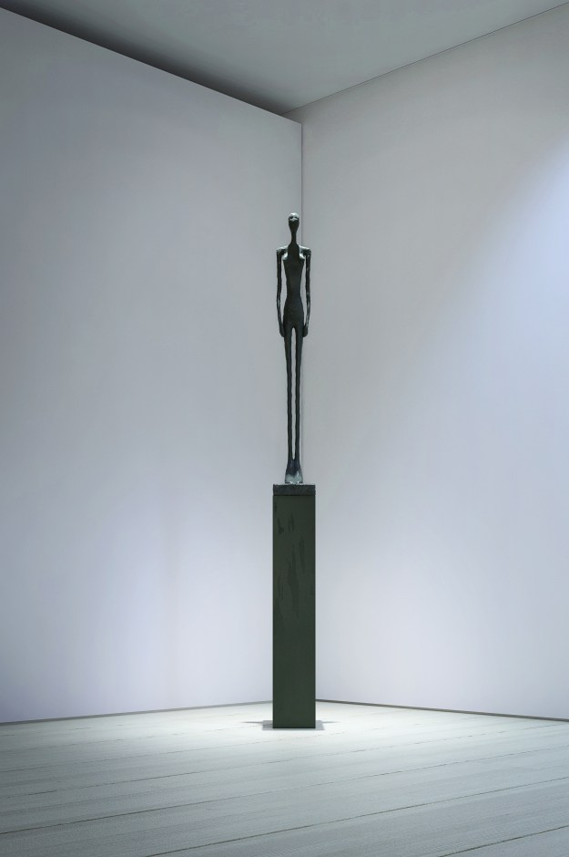 Visualisation of a Giacometti sculpture in the interior of Fulham Lodge