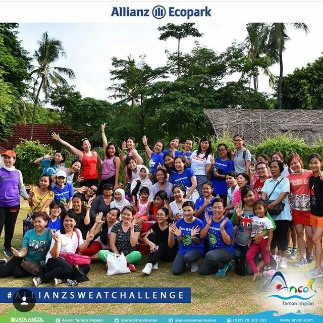 Tantangan Berkeringat di Allianz Ecopark Ancol