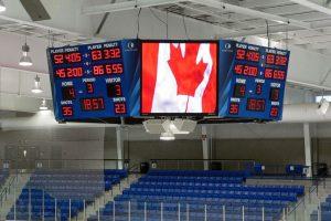 Harris Time hockey LED