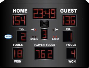 Harris Time scoreboard HT 2200