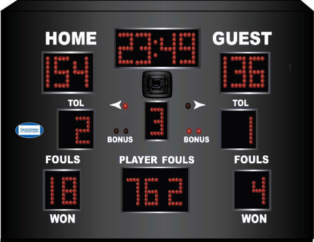 Harris Time scoreboard HT 2200
