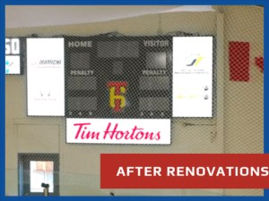New SST8 Scoreboard for Hockeyville Winner
