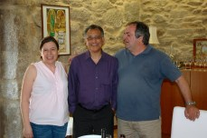 With Anselmo & his wife in Melgaco