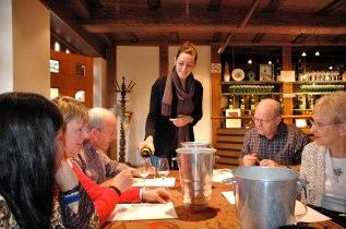 Tasting with Ann Trimbach