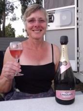 Lindauer's bottle fermented fizz was a regular aperitif of ours.