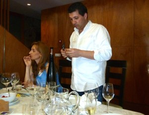 Tasting with Luis Cerdera