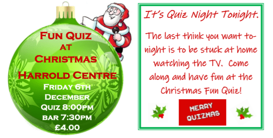Centre Christmas Quiz 2019