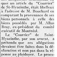 """«Bouchard vs """"Le Courrier""""»"""
