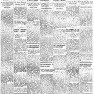 """«La une du """"Courrier"""" de 1934»"""