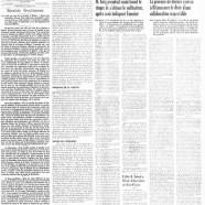 «La page éditoriale du Courrier en 1946»