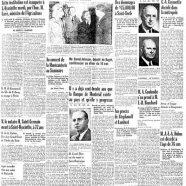 «La une du Courrier en 1947»