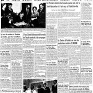 """«La une du """"Courrier"""" en 1959»"""