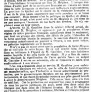 «La signification d'un acte politique: M. Gauthier et la population de Saint-Hyacinthe»