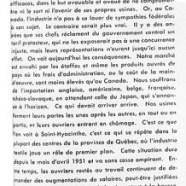 «Le gouvernement d'Ottawa et la crise du textile»