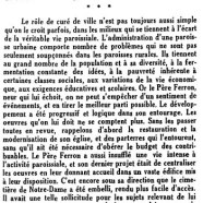 «Le R. Père N.-M. Ferron, O.P.»
