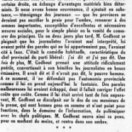 «M. Adélard Godbout et l'autonomie»