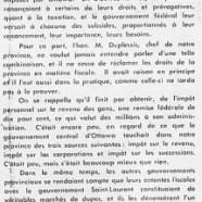 «L'honorable Maurice Duplessis est le grand vainqueur du 10 juin»