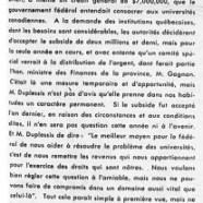 «Le gouvernement de Québec et le problème des universités